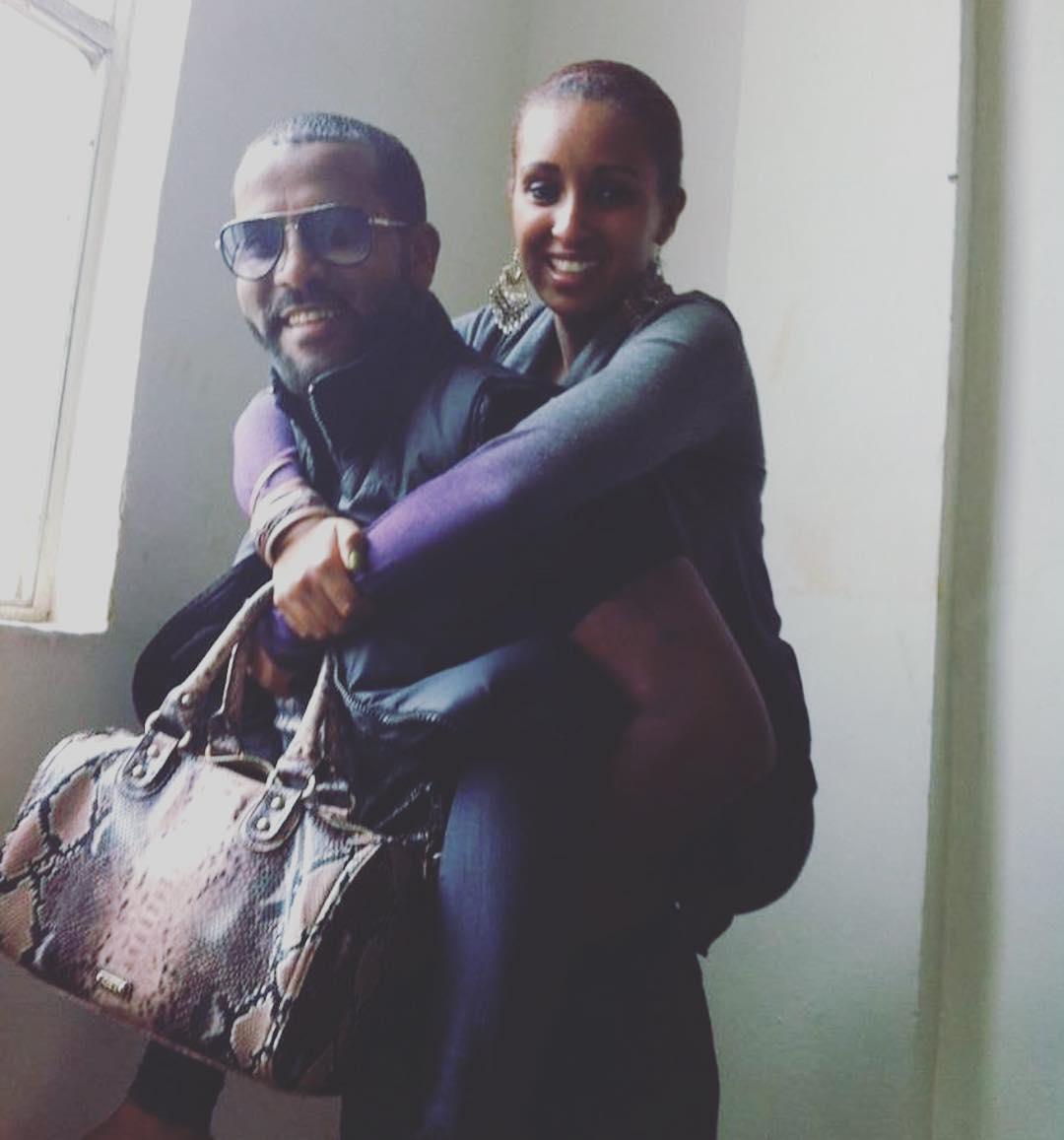 Ethiopian Actress Mahder Assefa And Film Maker Yehuala Eshet Belete  U2013 Tewnet Com